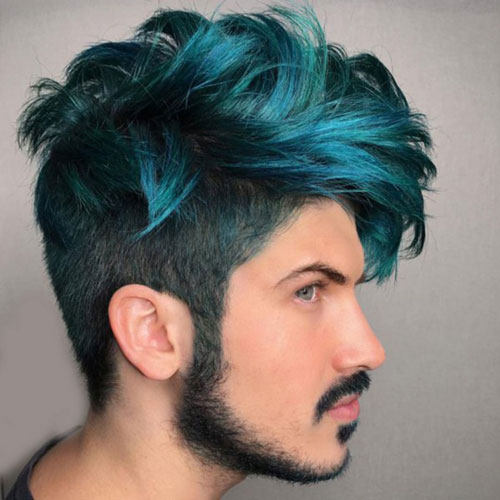 hair color male